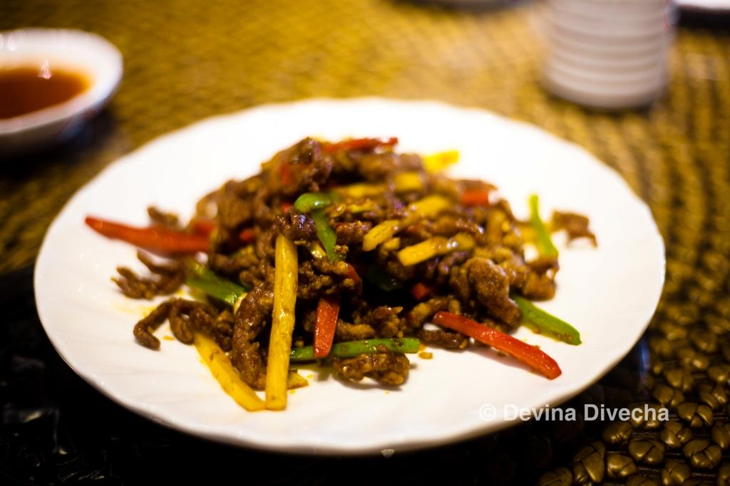 Sichuan beef Homey Chinese JLT