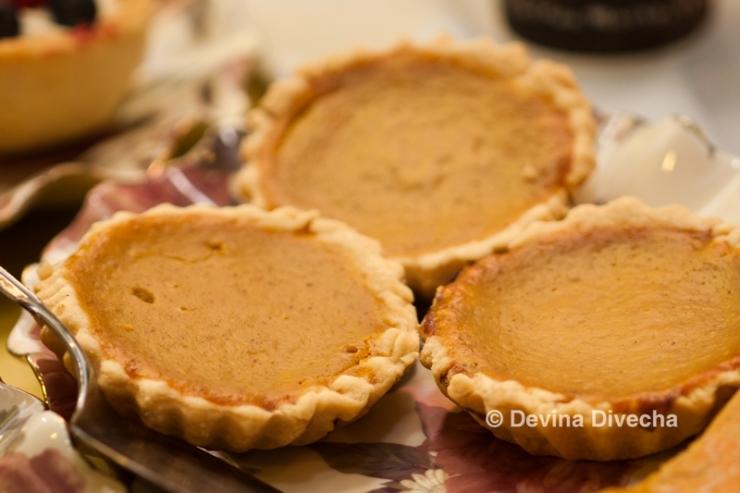 Sahar's pumpkin pies