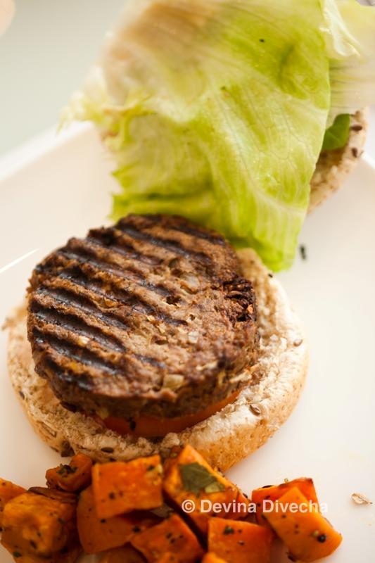 kCal beef burger