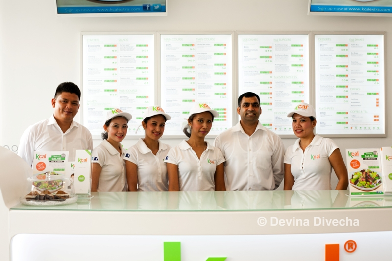 The friendly kCal team at the TECOM branch