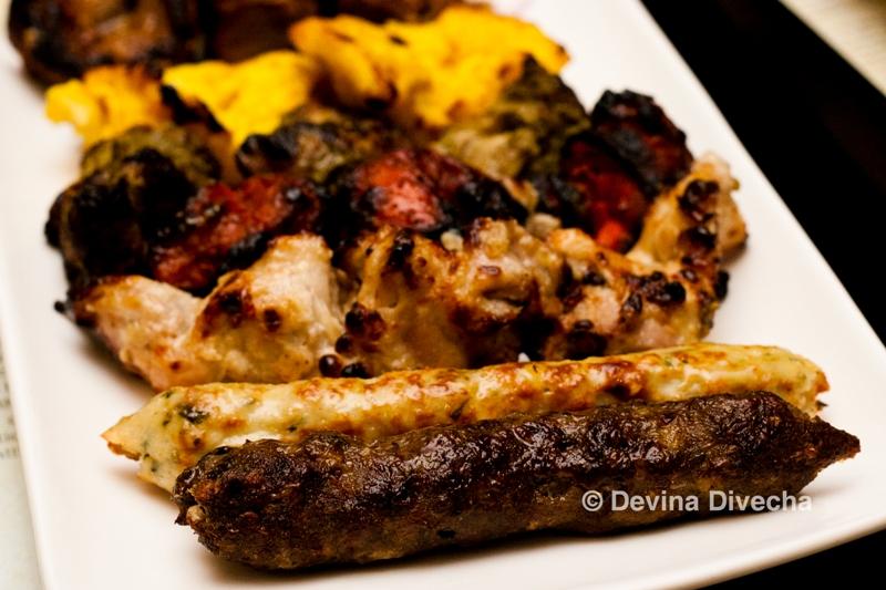 Flames non veg mixed grill
