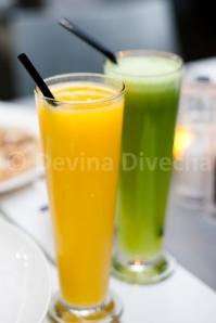 Juices at Náis Italian Kitchen