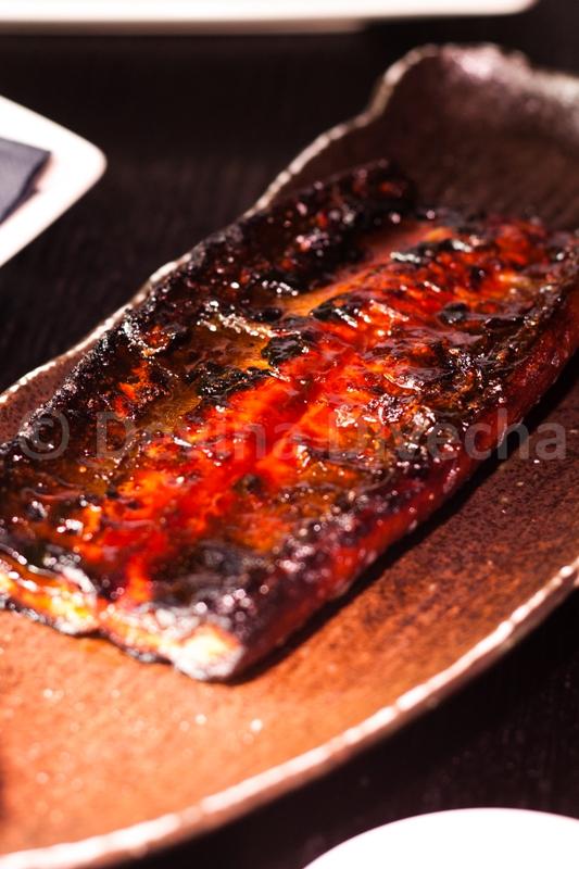 Grilled eel at Okku