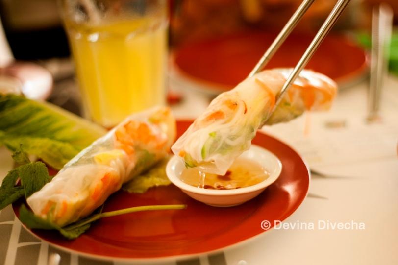 Summer rolls Hanoi