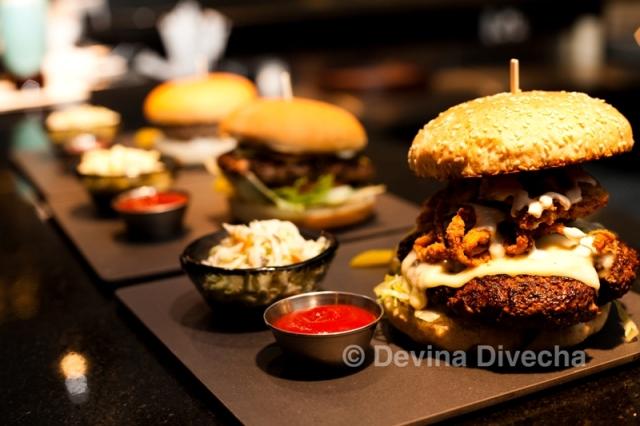 Burger360 burger line-up