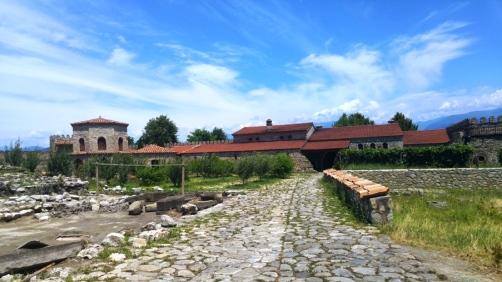 Inside the Alaverdi Monastery grounds