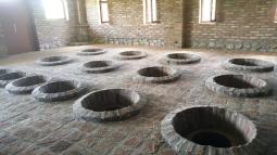 Buried qvevris