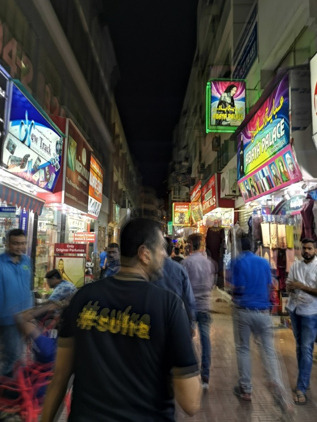 Walking through Bur Dubai
