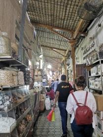 Exploring Al Ras' souks